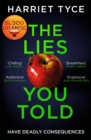 Image for The Lies You Told : From the Sunday Times bestselling author of Blood Orange