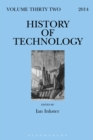 Image for History of Technology, Volume 32 : Volume 32