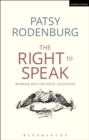 Image for The right to speak: working with the voice