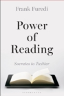 Image for Power of reading  : Socrates to Twitter