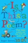 Image for Is this a poem?