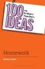 Image for 100 ideas for primary teachers  : homework