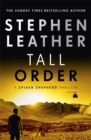 Image for Tall Order : The 15th Spider Shepherd Thriller