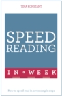Image for Speed reading in a week