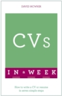Image for CVs in a week