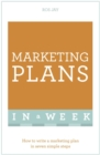 Image for Marketing plans in a week