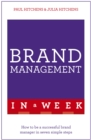 Image for Brand management in a week