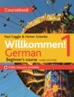 Image for Willkommen!  : German beginner's course1,: Coursebook