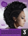 Image for Professional hairdressing and barbering: the official guide to Level 3.