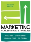 Image for Marketing : Concepts and Strategies