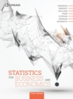 Image for Statistics for business and economics