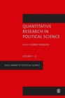 Image for Quantitative research in political science