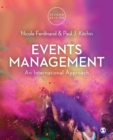 Image for Events management  : an international approach
