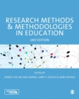 Image for Research methods and methodologies in education