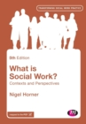 Image for What is social work?  : contexts and perspectives