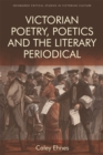 Image for Victorian poetry and the poetics of the literary periodical