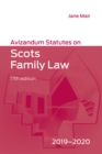 Image for Avizandum statutes on Scots family law, 2019-2020