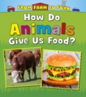 Image for How do animals give us food?
