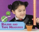Image for Rulers and tape measures