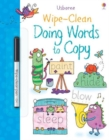 Image for Wipe-Clean Doing Words to Copy