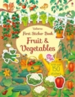 Image for First Sticker Book Fruit and Vegetables