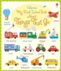 Image for Usborne my first word book about things that go