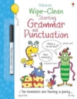 Image for Wipe-Clean Starting Grammar and Punctuation