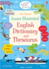 Image for The Usborne junior illustrated English dictionary and thesaurus