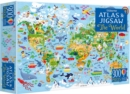 Image for Usborne Atlas and Jigsaw The World
