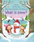Image for What is snow?