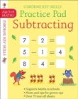 Image for Subtracting Practice Pad 5-6