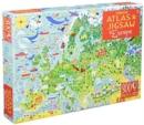 Image for Usborne Atlas and Jigsaw Europe