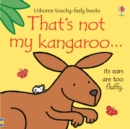 Image for That's not my kangaroo..