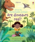 Image for Lift-the-Flap Very First Q and A : Are Dinosaurs Real