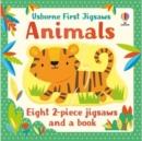 Image for Usborne First Jigsaws: Animals