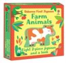 Image for Usborne First Jigsaws: Farm Animals