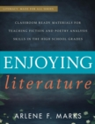 Image for Enjoying literature: classroom ready materials for teaching fiction and poetry analysis skills in the high school grades
