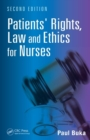 Image for Patients' rights, law and ethics for nurses