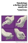 Image for Smoking: A Behavioral Analysis : 12