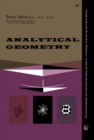 Image for Analytical Geometry: The Commonwealth and International Library of Science, Technology, Engineering and Liberal Studies: Mathematics Division