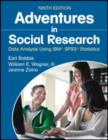 Image for Adventures in social research  : data analysis using IBM SPSS statistics