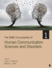 Image for The SAGE encyclopedia of human communication sciences and disorders