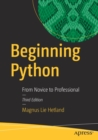 Image for Beginning Python  : from novice to professional