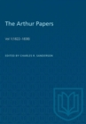 Image for The Arthur Papers : Volume 1 (1822-1838)