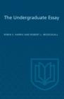 Image for The Undergraduate Essay
