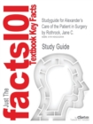 Image for Studyguide for Alexander's Care of the Patient in Surgery by Rothrock, Jane C., ISBN 9780323069168