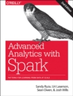 Image for Advanced analytics with SPARK  : patterns for learning from data at scale
