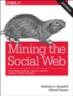 Image for Mining the social web