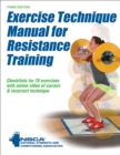 Image for Exercise technique manual for resistance training