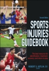 Image for Sports injuries guidebook